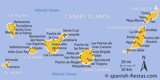 What Are The Canary Islands Named For