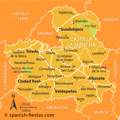 Castilla La Mancha Travel Guide