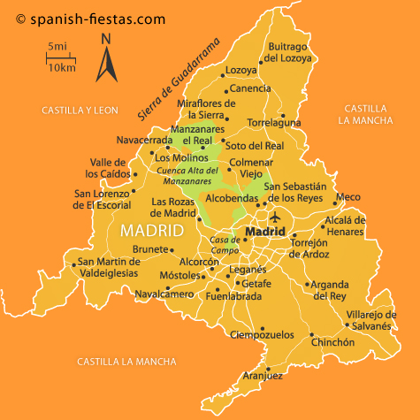 Madrid Region Travel Guide