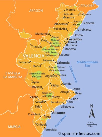 Valencia Region Travel Guide