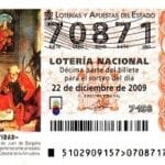 Spanish Christmas Lottery Ticket