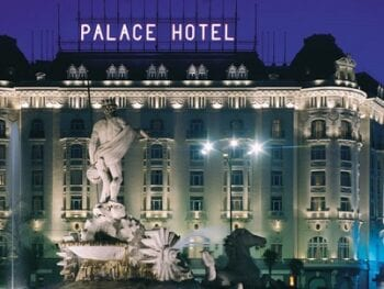 Westin Palace Hotel in Madrid