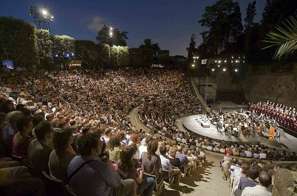 Greek Theatre in Barcelona