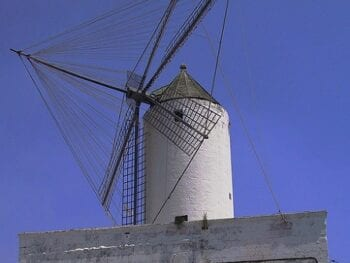 Windmill in Ciutadella