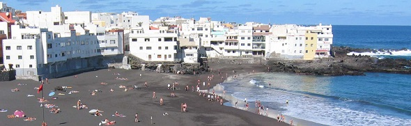 Beach at Puerto de la Cruz