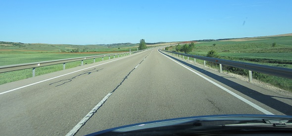 Open Road in Spain