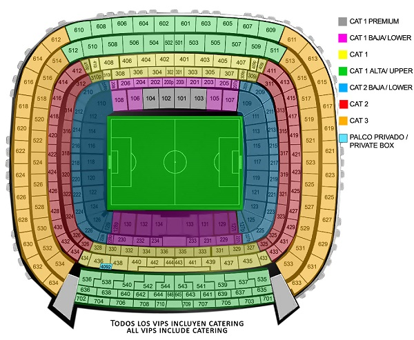 Bernabeu Stadium Map