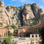 Close up View of Montserrat