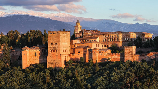 the alhambra palace The alhambra in granada, spain, is distinct among medieval palaces for its sophisticated planning, complex decorative programs, and its many enchanting gardens and.