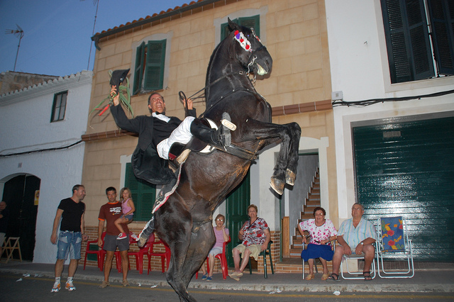 Traditional Horse Festival in Alayor
