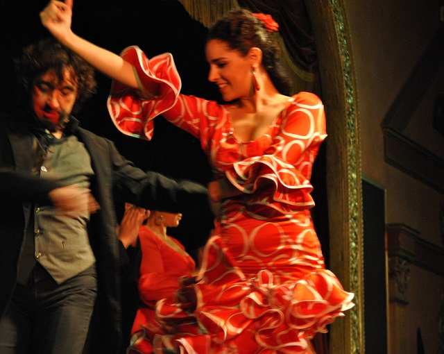 Flamenco Dancer at El Palacio Andaluz in Seville