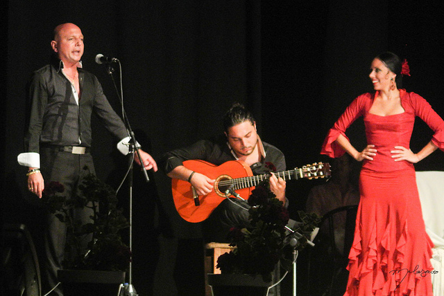 Famous Flamenco Dancer Lola Pérez