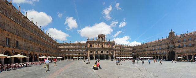 Salamanca's Plaza Mayor is One of Spain's most impressive