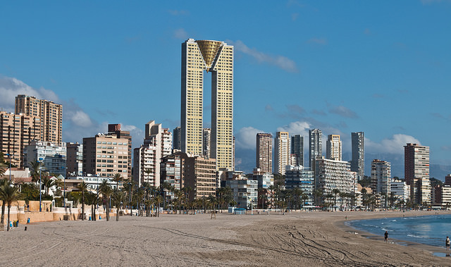Intempo Building is Benidorm's Tallest