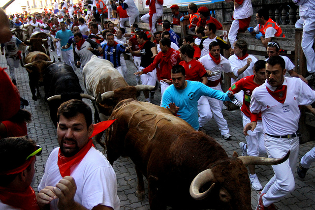 Typical Street Scene During the Bull Run