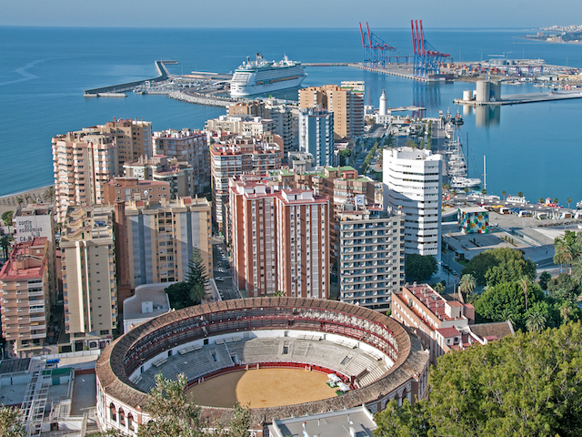 Malaga Bullring and Port