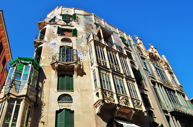 Modernist Building 'Can Forteza-Rey' in Palma
