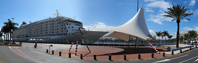 Welcome to the Cruise Port of Las Palmas
