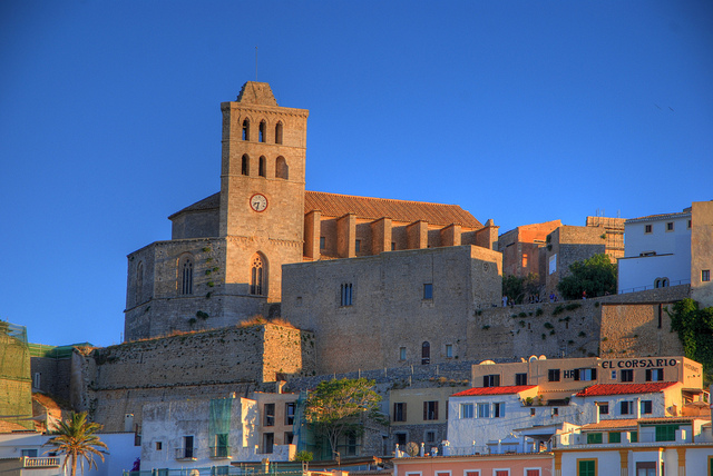 Sunset on the Dalt Vila