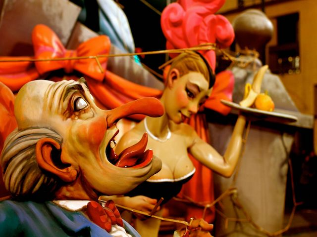 Typical Scenes at the Fallas Festival