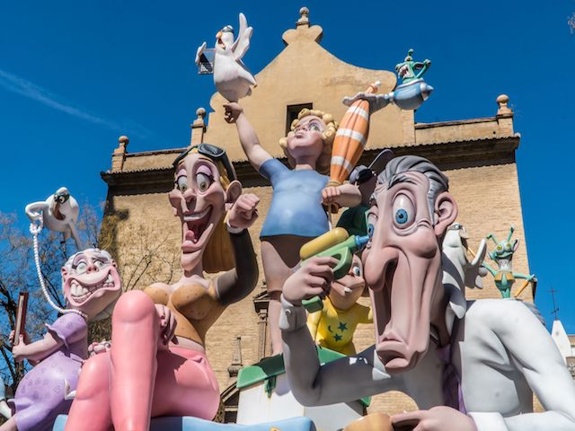 Fallas Before the Burning