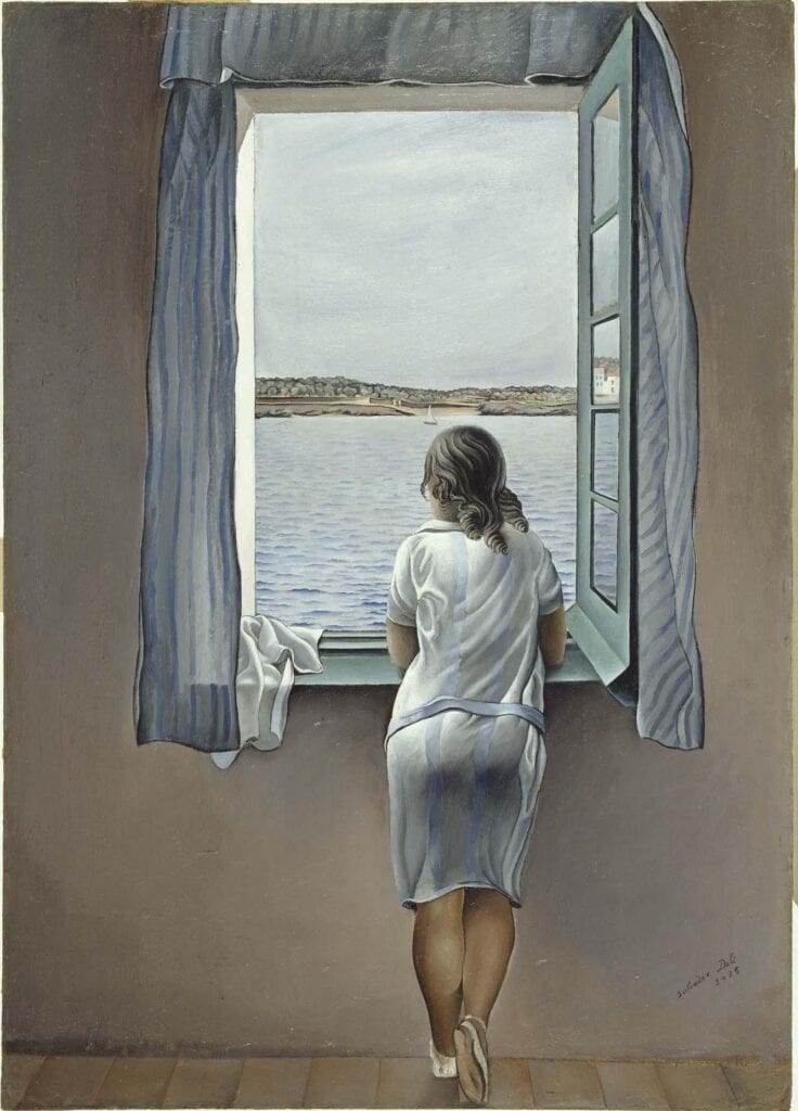 Dalí's Figure at the Window - Figura en una finestra