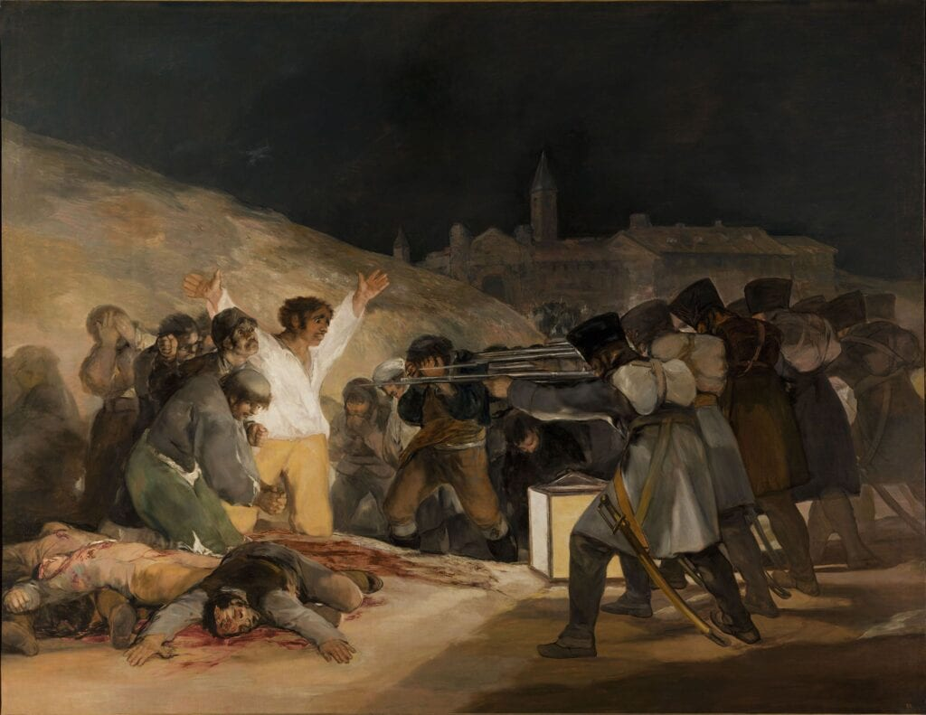 Goya's The Third of May - El Tres de Mayo