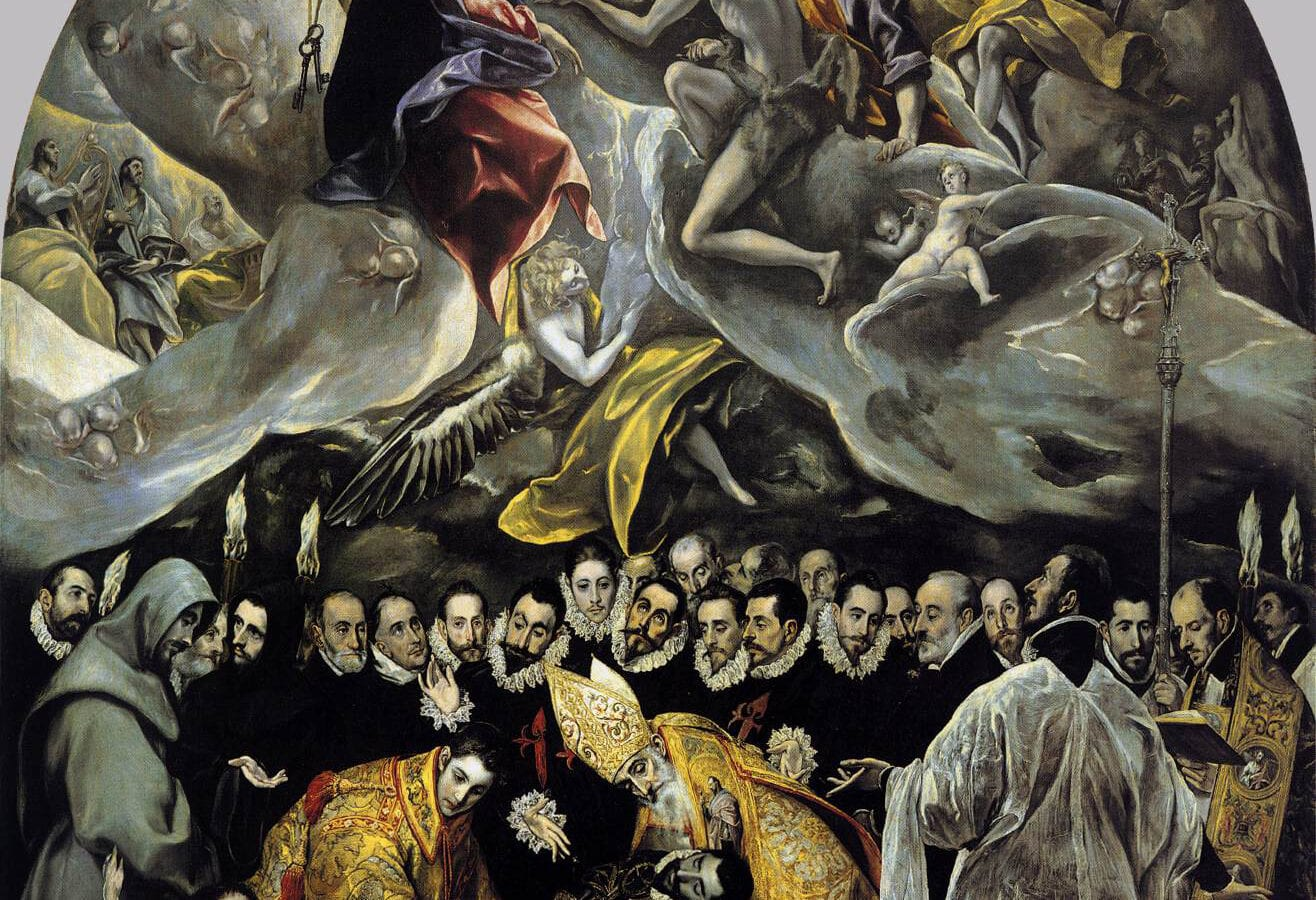 El Greco's Burial of the Count of Orgaz - El Entierro del Señor de Orgaz