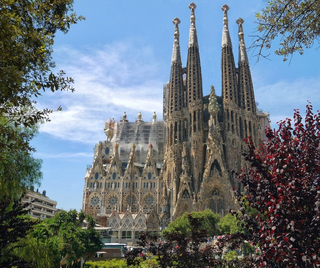 Day trip from Salou to Barcelona - Sagrada Familia