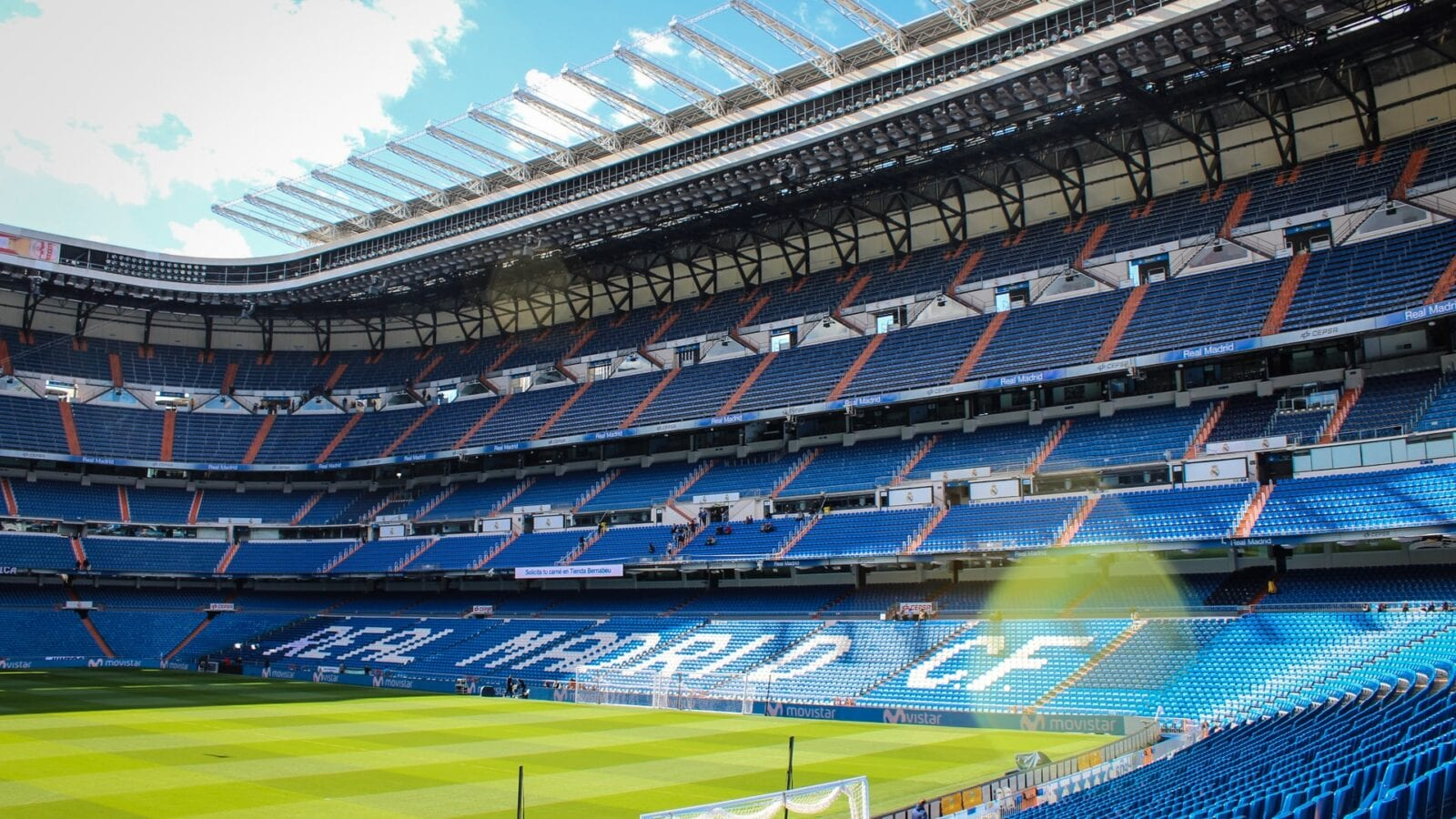Real Madrid's Bernabeu Stadium