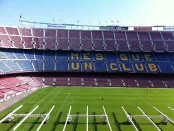 FC Barcelona's Not Camp Stadium