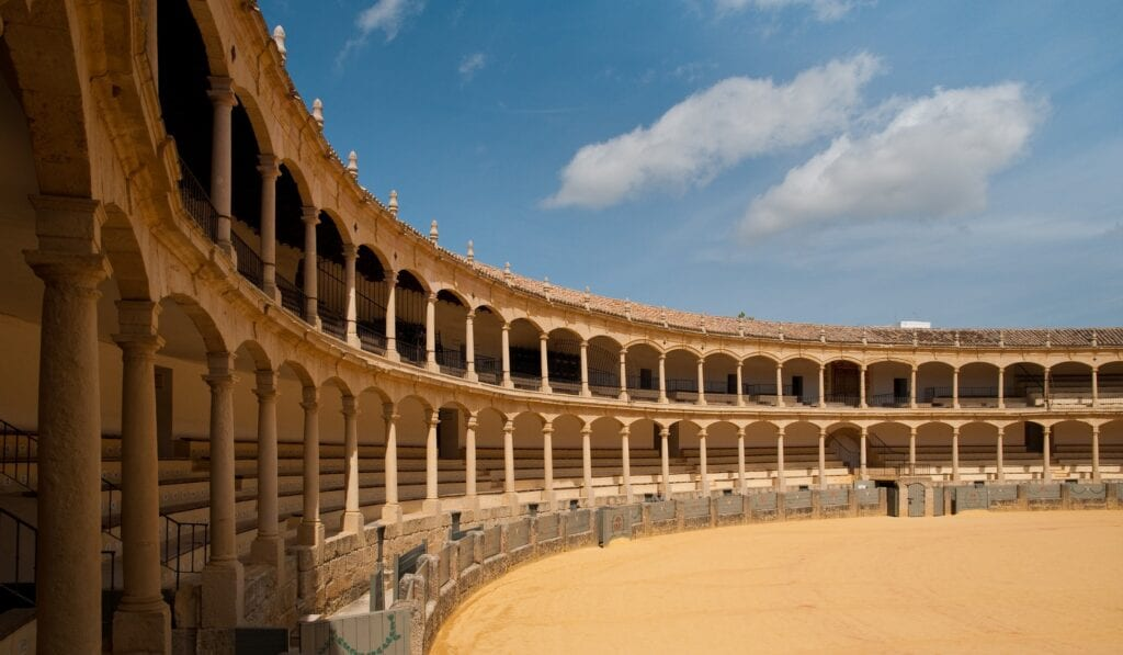 Bullfighting in Ronda