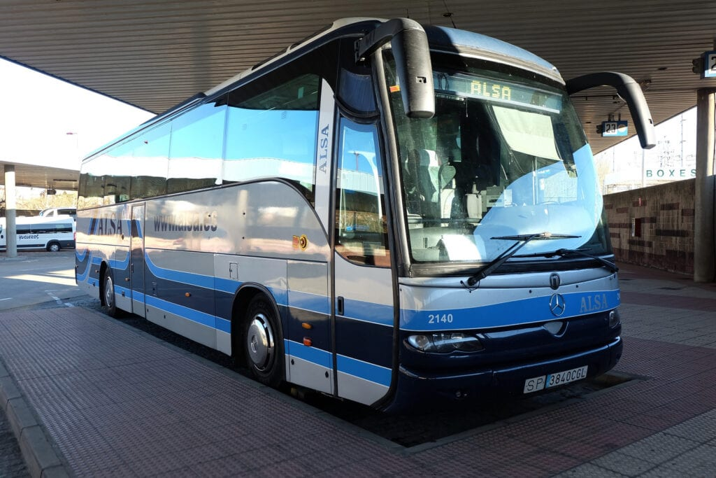 Alsa Bus in Spain