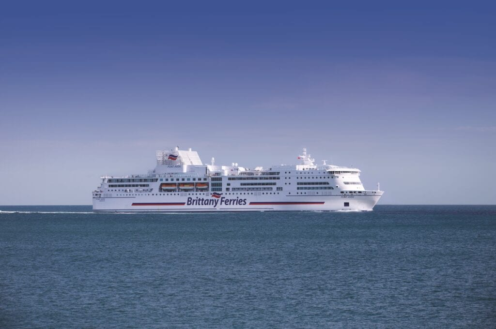 Pont-Aven Ferry to Spain