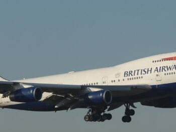 British Airways Flight