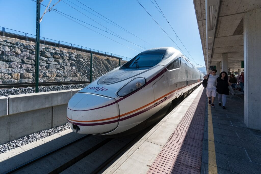 AVE Train in Spain
