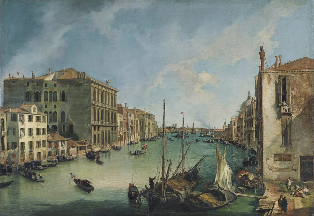 The Grand Canal from San Vio