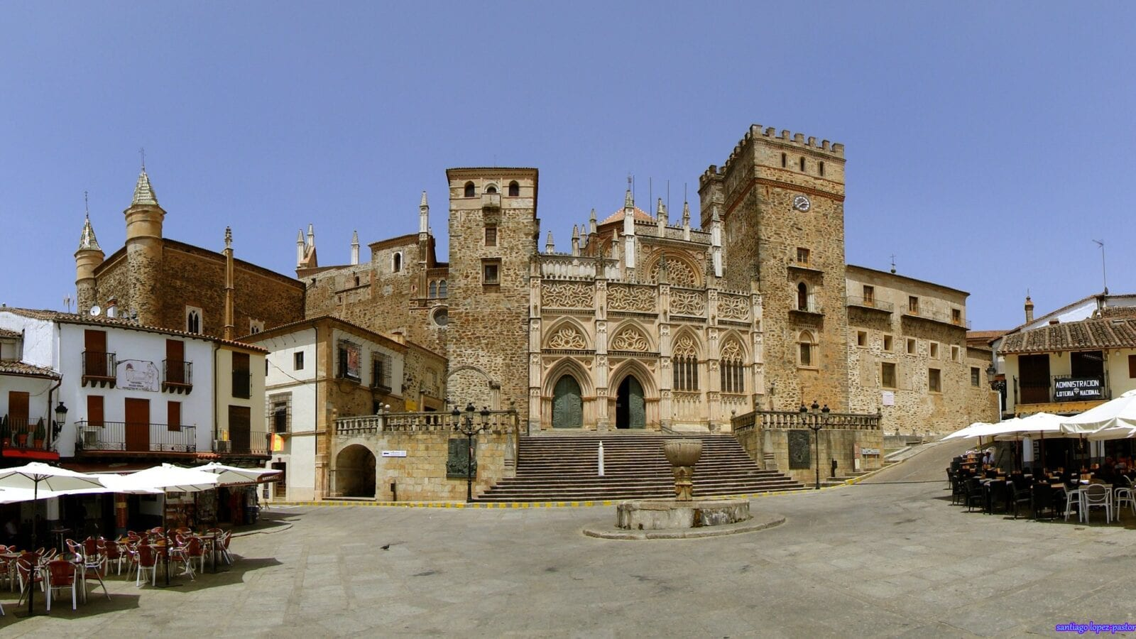 Monastery of Guadalupe in Extremadura