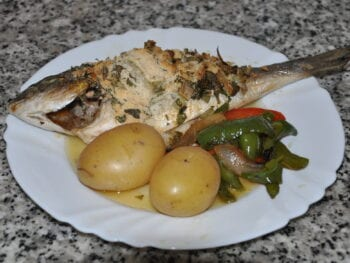 Baked Bream Fish Recipe
