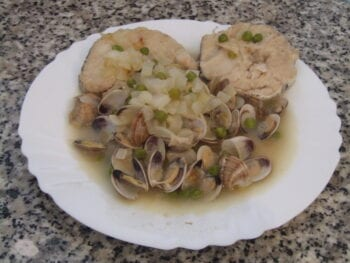 Hake with Clams Recipe