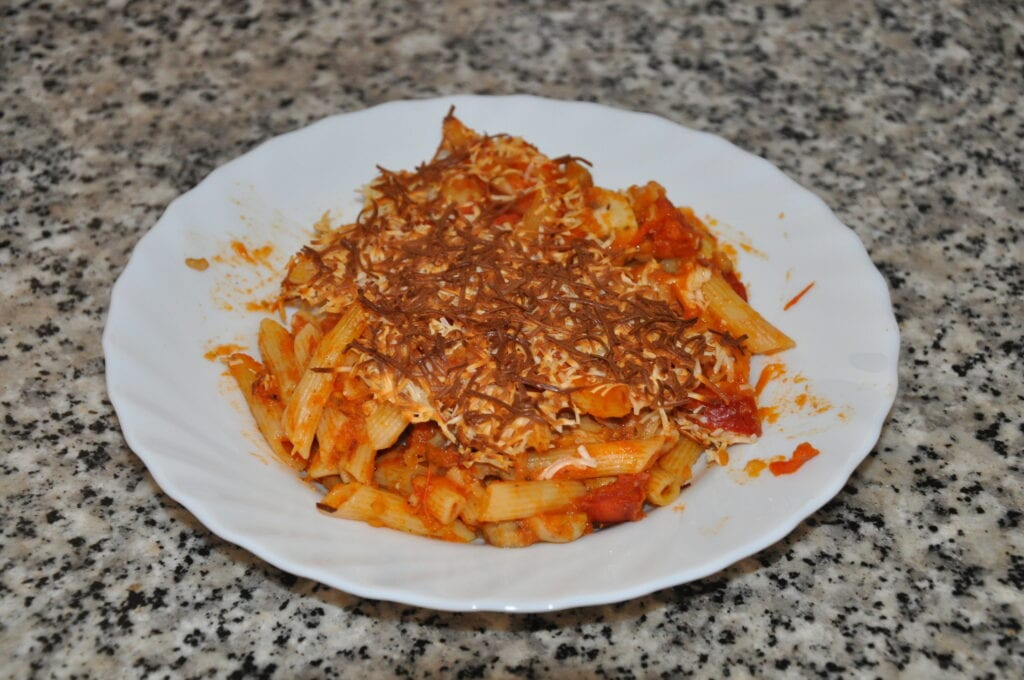 Macaroni with Chorizo and Tomato Sauce Recipe