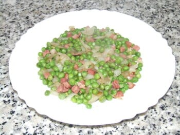 Peas and Ham Recipe