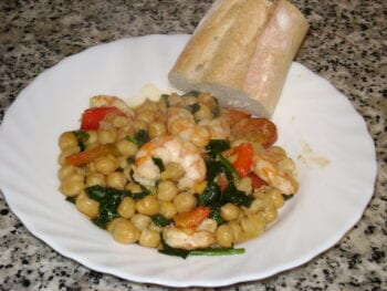 Prawns, Chorizo and Chickpea Stew Recipe