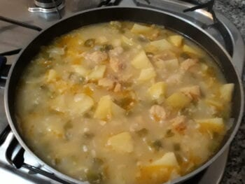 Bacalao con Patatas - Cod with Potatoes