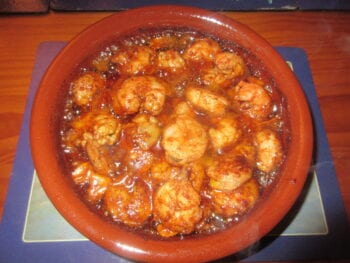 Garlic Prawns Recipe - Gambas al Ajillo