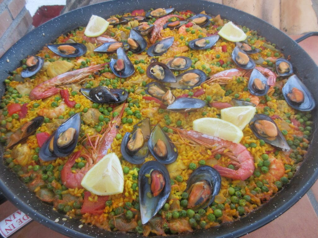 Paella Mixta Recipe