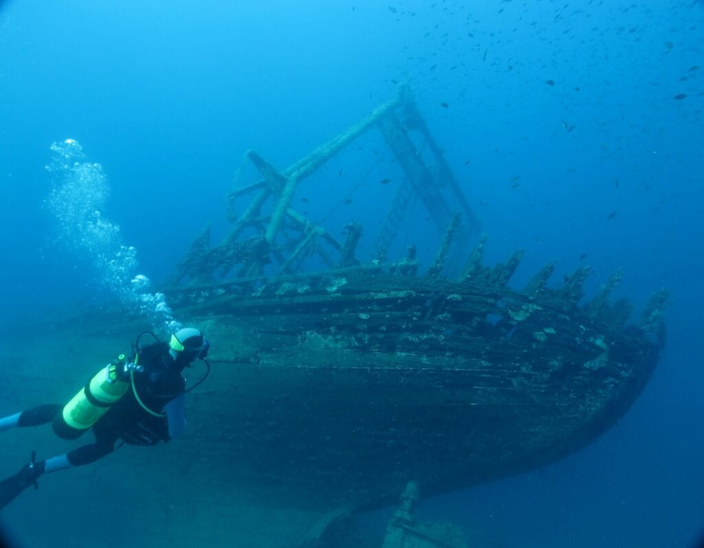 Wreck Diving in Spain
