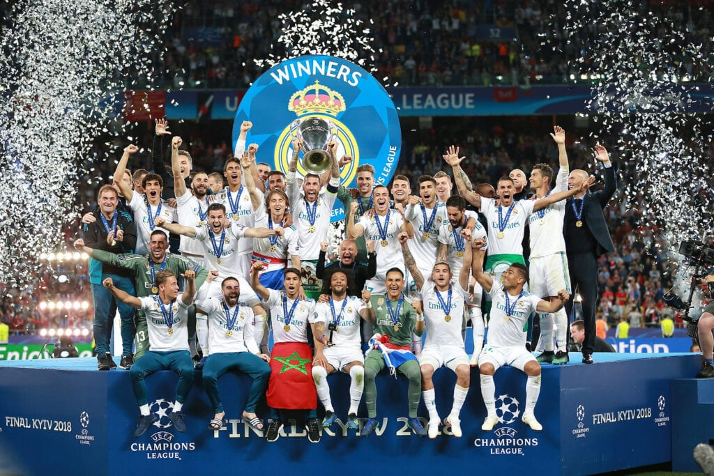 Real Madrid Champions League Winners 2018